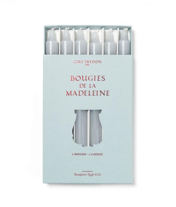 Bougies De La Madeleine - Gris - X6