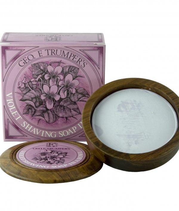 bol à raser - savon violette