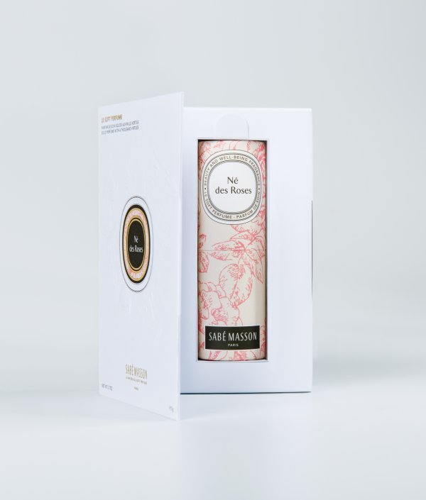 né des roses - parfum solide