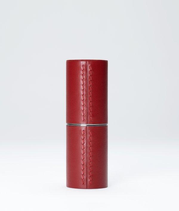 Écrin de cuirs Rouge pour recharge rouge à lèvres