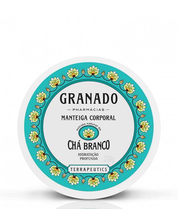Beurre Hydratant Pour Le Corps - Cha Branco - 200ml